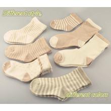Meias de algodão orgânico Naturl para bebê