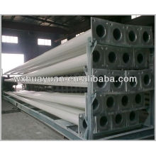 Powder coating steel rod