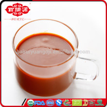 Les effets secondaires goji de jus de goji de jus de goji organique doux et juteux