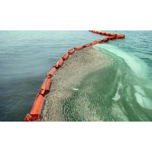 Rubber Oil Boom, Oil Fence, PVC Oil Pollution Booms