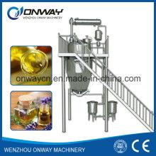 Rho High Efficient Factory Preis Energie sparen Hot Reflux Solvent Herbal Essential Öl Extraktion Maschine