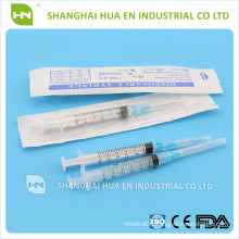 syringes luer lock luer slip made in China