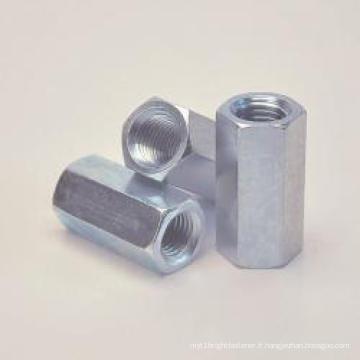 Acier inoxydable à long hexagone noix DIN 6334
