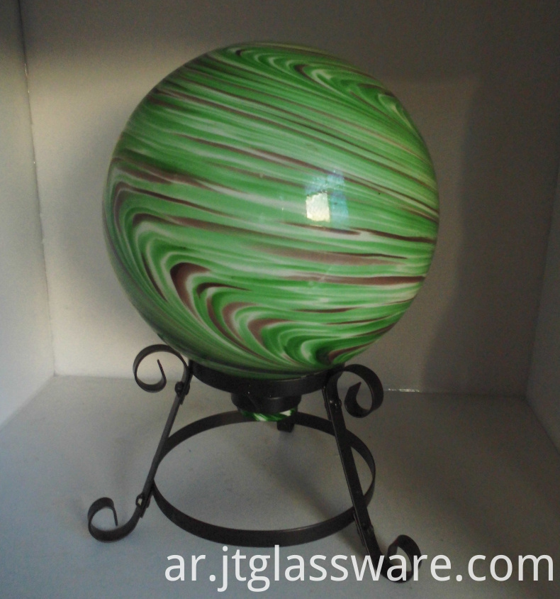 glass garden ball 1