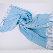 Moda acrílico lã efeito cachecol