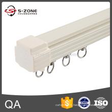 aluminium train style curtain rail for stage