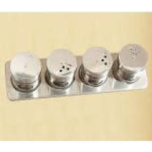 Porta-condimentos magnético aço inoxidável (CL1Z-J0604 - 4C)