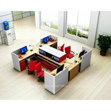 Estación de trabajo de oficina de fácil instalación moderna con archivador (SZ-WS307)