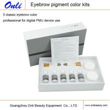 Kit de Maquillaje Permanente de Color de Pigmento de cejas