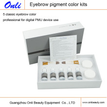 Kit de Maquiagem Permanente de Pigmento Colorido da Sobrancelha