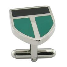Kundenspezifische Metall-Enamal-Männer Manschettenknopf