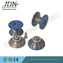 Diamond Continous Router Bits for Granite Marble Slab Edge Profiling