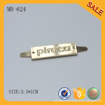 MB624 kundenspezifische Metalllogo Hysteresenhüte