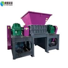 Trituradora de plástico de eixo duplo
