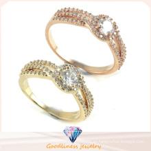 Precio de fábrica Anillo de plata de la joyería 925 de calidad superior y de la manera (R10253)