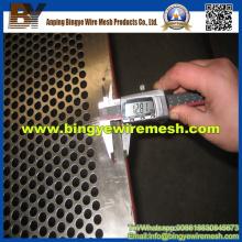 Metal galvanizado perfurado para peneiras