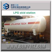 40m3 Depósito de GLP Depósito montado en la estación de bombeo