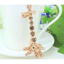 Set auger leopard giraffe keychain