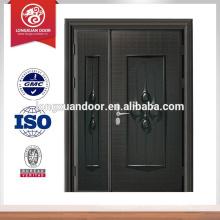 Conception de porte principale avant anti-balles en acier inoxydable, design de porte avant coupe feu Le choix de qualité
