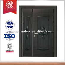 Luxury steel bullet proof front main door design, fire rated front door designs                                                                         Quality Choice