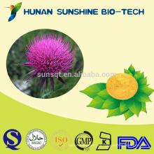 Inhibidores de inmunidad de muestra gratis Vitaminas y tónico cerebral a base de hierbas Silybum Marianum Semilla de cardo de leche PE