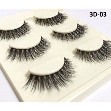 2017 OEM/Private Label Wholesale 3D synthetic False Eyelashes with Lashes Packaging
