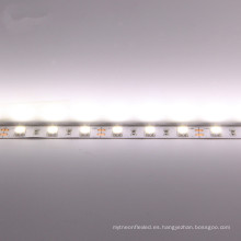interior IP20 blanco puro SMD 5050 24v 60 led por metro luz de tira llevada flexible