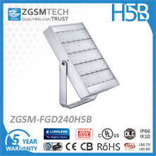 Luz de inundación del conductor de 125 LED / W Philips LED Meanwell Luz de inundación al aire libre de 200W LED