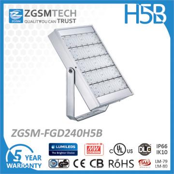 125lm / W Philips LED Meanwell-Fahrer-Flut-Licht im Freien 200W LED-Flut-Licht