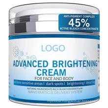 OEM ODM Advanced Whitening Brightening Skin Cream for Face & Body
