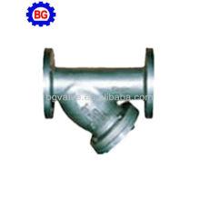 Y-filtro de aço fundido