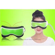 Nova Vibração de Pressão de Ar Infravermelho Aquecedor Olho Massageador Massagem Óculos Música Embutida