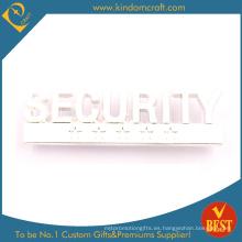 La insignia de la policía del metal para la seguridad de China en alta calidad