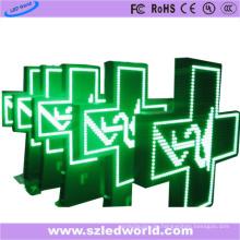 P10 im Freien farbenreiches Apotheken-LED-Kreuz