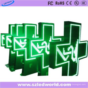 P10 Outdoor Full Color Pharmacy LED Cross