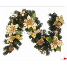 Guirnalda decorativa vendedora caliente de la flor artificial