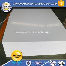 4x8 pied 1.22x2.44m 5mm 8mm feuille rigide noire de PVC pour la médecine