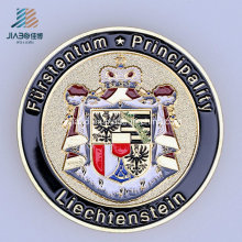 Le logo fait sur commande en métal d'émail de bâti d'alliage de qualité supérieure commémore ou la pièce de souvenir