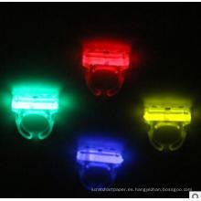 pesca LED partido de anillo de palo resplandor
