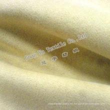 Poliester en relieve suave terciopelo gamuza cortina / sofá de la tela