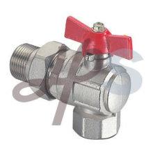válvula de água de ângulo de latão
