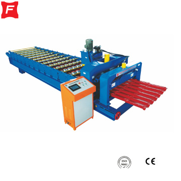 Estilo europeo Roof Glazed Tile Roll Forming Machine