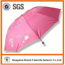 Parapluie de lacet dernière usine gros Parasol Print Logo