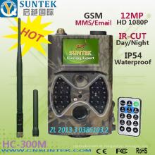 Scout Trail Camera 12MP 1080 P com 940nm Invisível IR Suporte SMTP GPRS GSM MMS Time Lapse