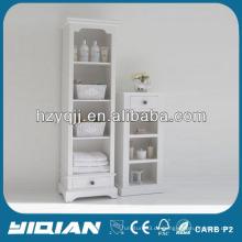 Schöne Wohnmöbel Hohe Slim Storage Cabinet Wohnzimmer PVC Side Cabinet