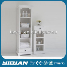 Beautiful Home Furniture Tall Slim Storage Cabinet Living Room PVC Side Cabinet