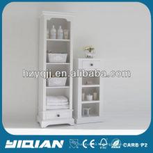 Красивая домашняя мебель Высокий тонкий шкаф для хранения Гостиная ПВХ боковой шкаф