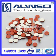 2015 Manufacturing 8mm PTFE Silicone septa for Black Cap