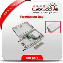 Caixa terminal de alta qualidade de W-12b FTTX / caixa de distribuição de fibra óptica