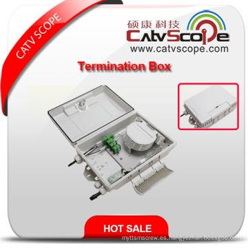 Caja de bornes de alta calidad W-12b FTTX / caja de distribución de fibra óptica